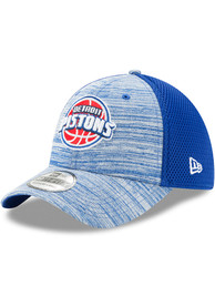 New Era Detroit Pistons Blue Tonal Tint 39THIRTY Flex Hat