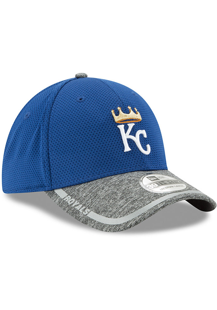 New Era Kansas City Royals Mens Blue NE16 Training 3930 39THIRTY Flex Hat - Image 2