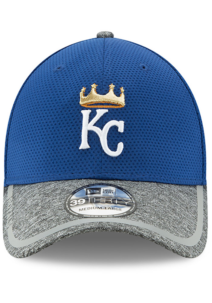 New Era Kansas City Royals Mens Blue NE16 Training 3930 39THIRTY Flex Hat - Image 3