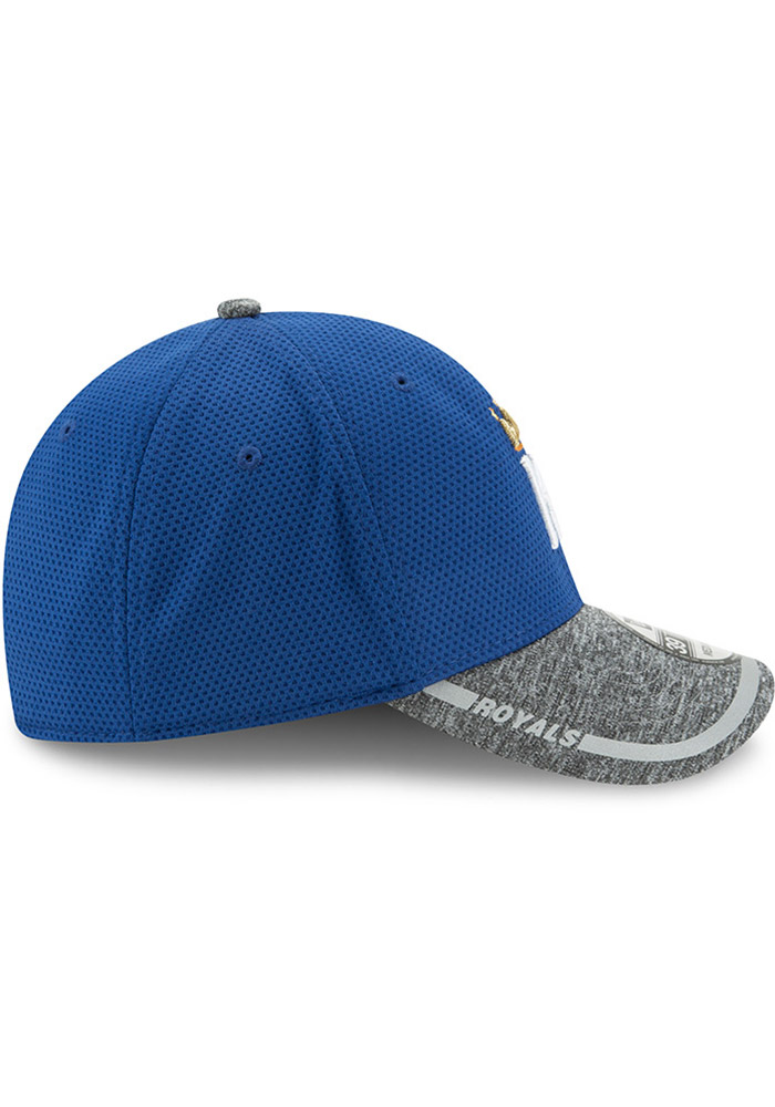 New Era Kansas City Royals Mens Blue NE16 Training 3930 39THIRTY Flex Hat - Image 6