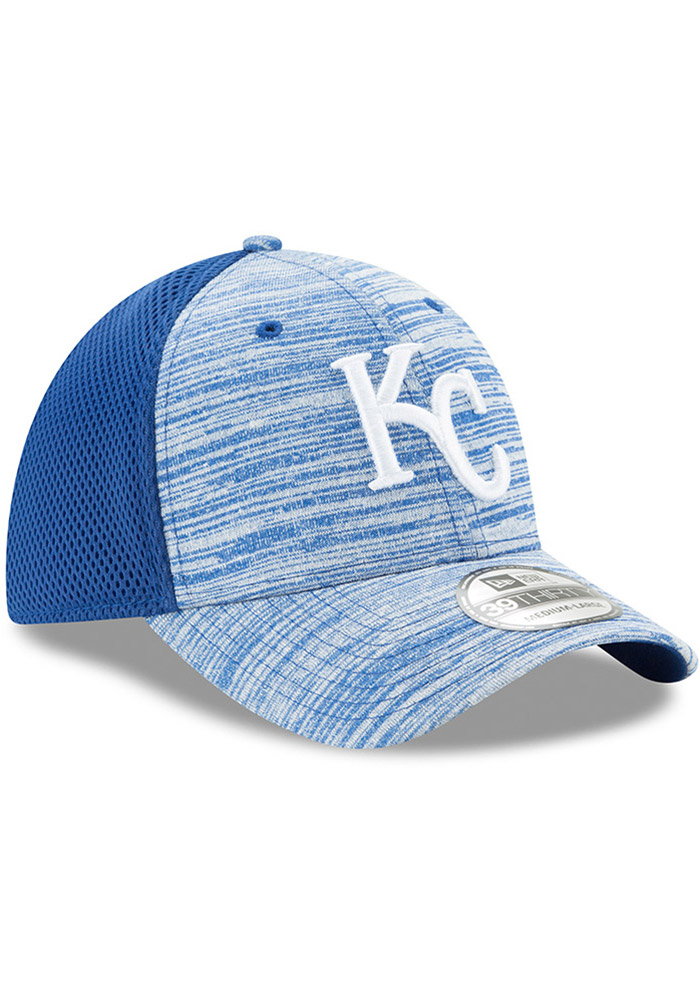 New Era Kansas City Royals Mens Black Tonal Tint 39THIRTY Flex Hat - Image 2