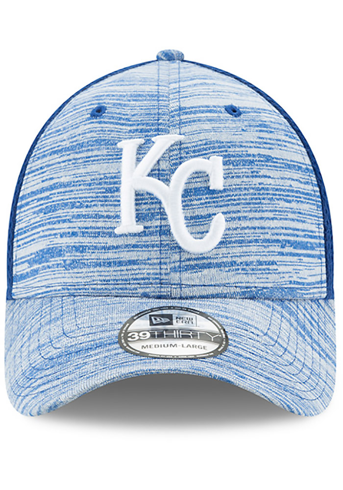 New Era Kansas City Royals Mens Black Tonal Tint 39THIRTY Flex Hat - Image 3