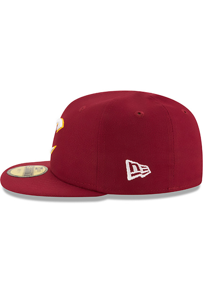 New Era Cleveland Cavaliers Maroon My 1st 59FIFTY Kids Fitted Hat - Image 4
