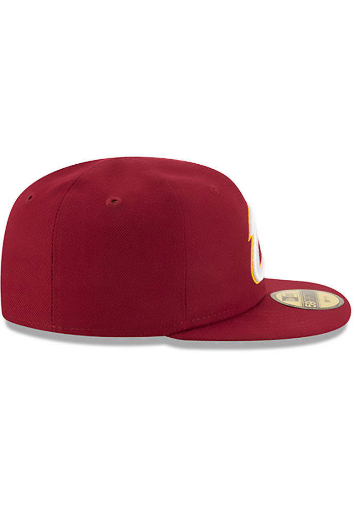 New Era Cleveland Cavaliers Maroon My 1st 59FIFTY Kids Fitted Hat - Image 6
