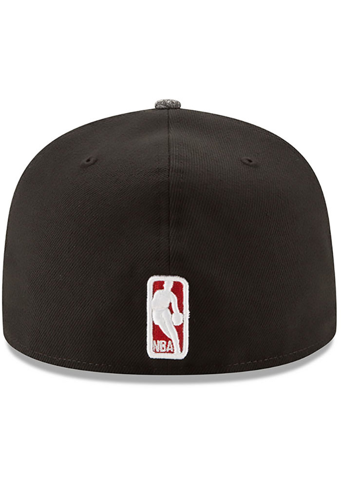 New Era Chicago Bulls Mens Black Gripping Vize 59FIFTY Fitted Hat - Image 5