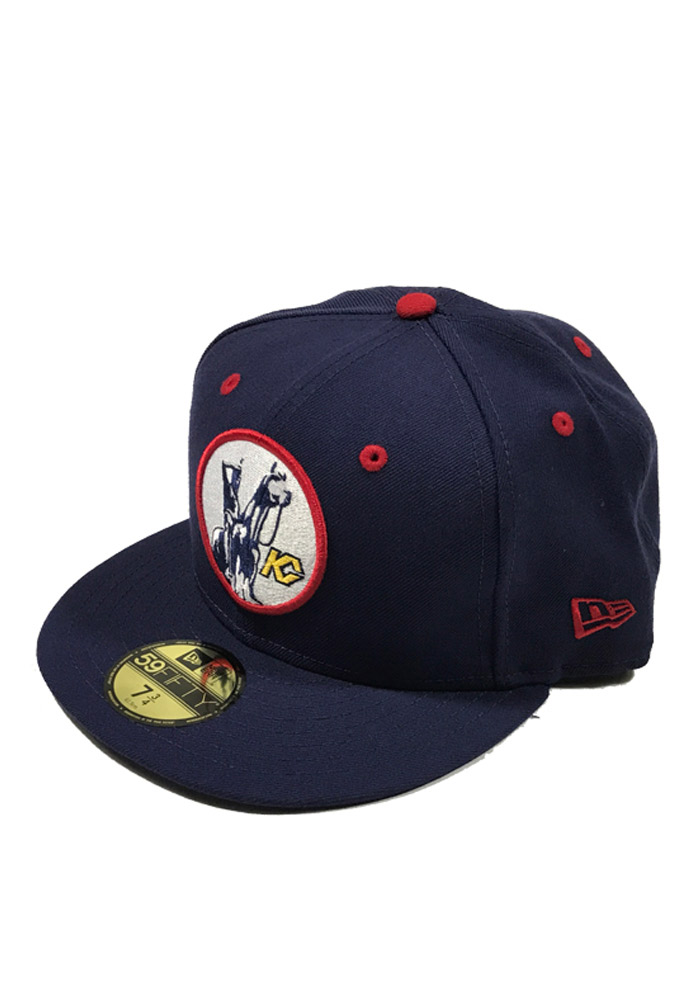New Era Kansas City Scouts Mens Navy Blue 59FIFTY Fitted Hat - Image 1