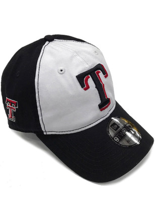 New Era Texas Rangers Mens Black Co Branded 9TWENTY Adjustable Hat