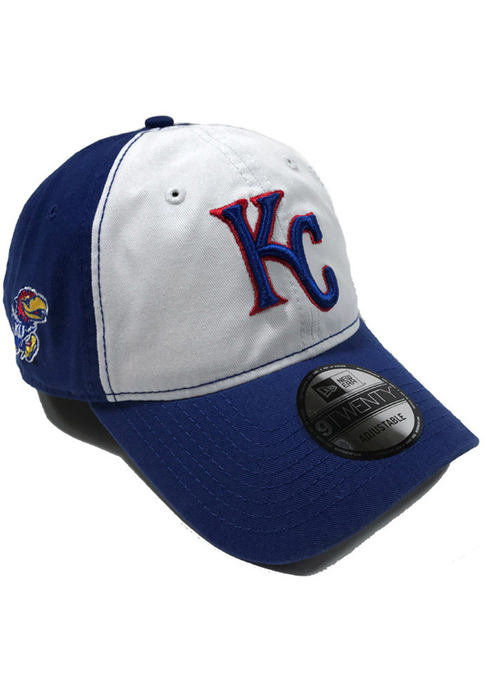 New Era Kansas City Royals Co Branded 9TWENTY Adjustable Hat - Blue
