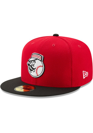Cincinnati Reds New Era Mens Red 2017 Diamond Era 59FIFTY Fitted Hat