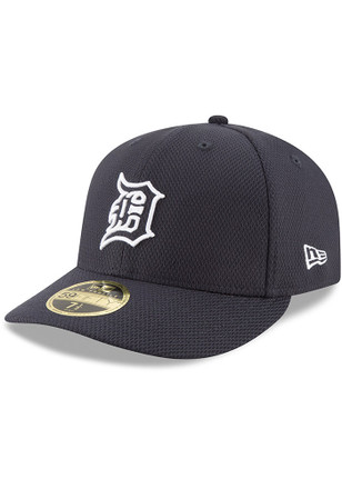 Detroit Tigers New Era Mens Navy Blue 2017 Diamond Era LC 59FIFTY Fitted Hat