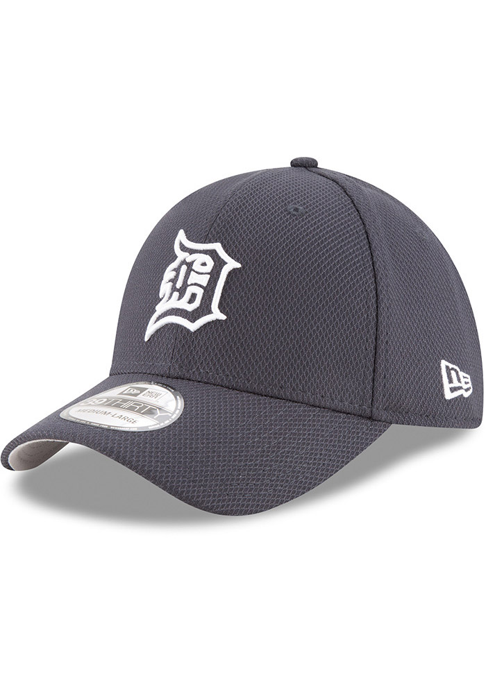 54a6051b4d1 New Era Detroit Tigers Navy Blue 2017 Diamond Era 39THIRTY Flex Hat