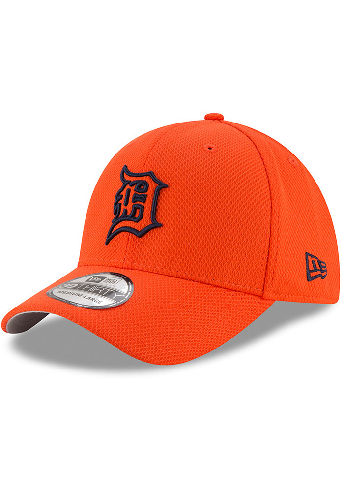 63b711236a5 New Era Detroit Tigers Orange 2017 Diamond Era 39THIRTY Flex Hat