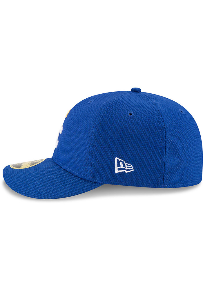 New Era Kansas City Royals Mens Blue 2017 Diamond Era LC 59FIFTY Fitted Hat - Image 4