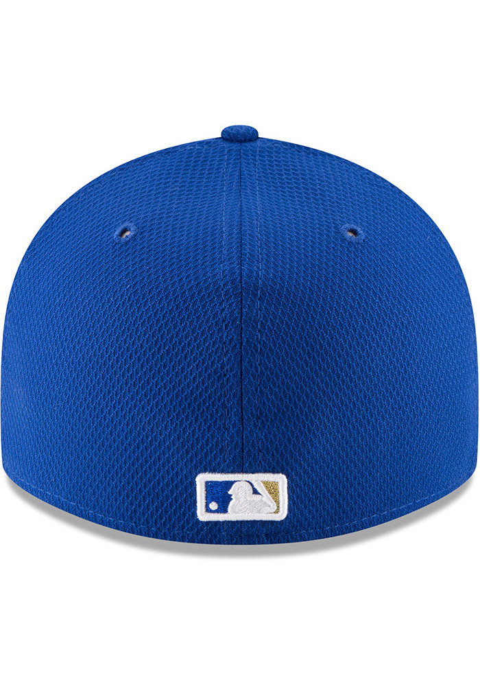 New Era Kansas City Royals Mens Blue 2017 Diamond Era LC 59FIFTY Fitted Hat - Image 5