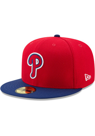 Philadelphia Phillies New Era Mens Red 2017 Diamond Era 59FIFTY Fitted Hat