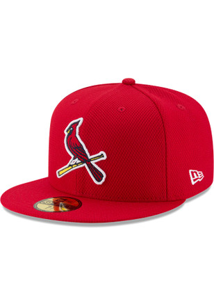 New Era St Louis Cardinals Red 2017 Diamond Era 59FIFTY Kids Fitted Hat