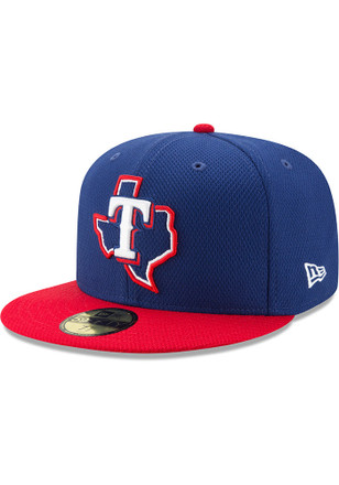 Texas Rangers New Era Mens Blue 2017 Diamond Era 59FIFTY Fitted Hat