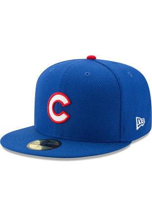 New Era Chicago Cubs Blue 2017 Diamond Era 59FIFTY Kids Fitted Hat
