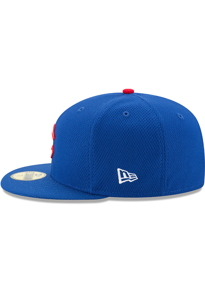 brand new 33548 1e5f4 ... release date new era chicago cubs blue 2017 diamond era 59fifty kids fitted  hat image 4