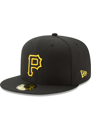 Pittsburgh Pirates New Era Mens Black 2017 Diamond Era 59FIFTY Fitted Hat