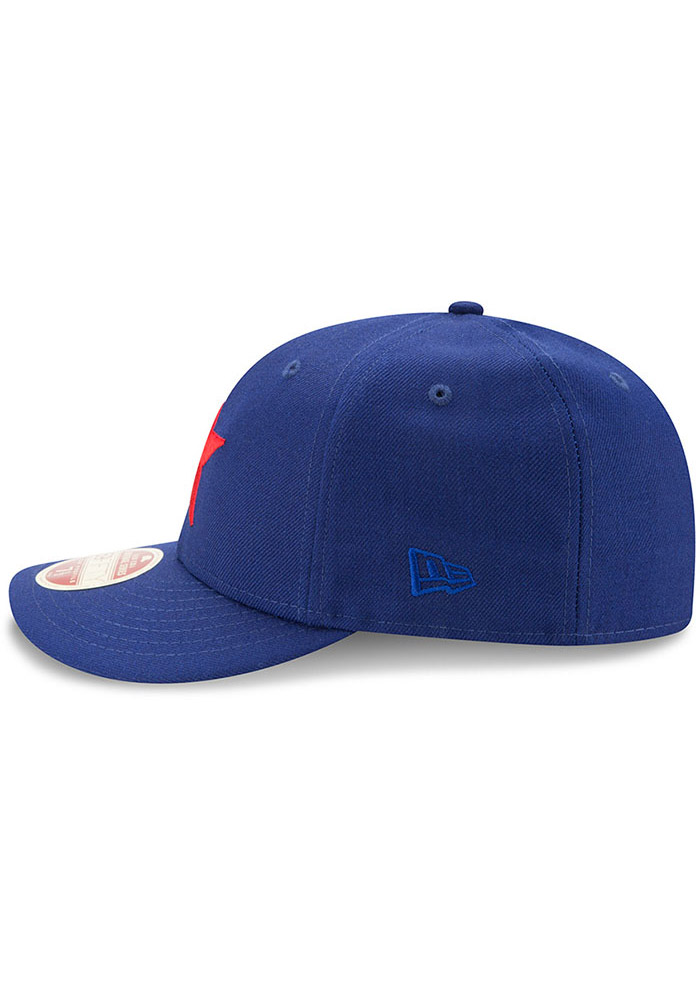 New Era Detroit Stars Mens Blue Dual 59FIFTY Fitted Hat - Image 4