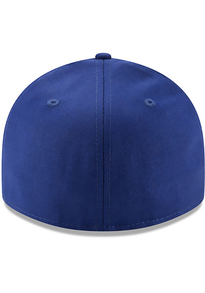 New Era Detroit Stars Mens Blue Dual 59FIFTY Fitted Hat - Image 5