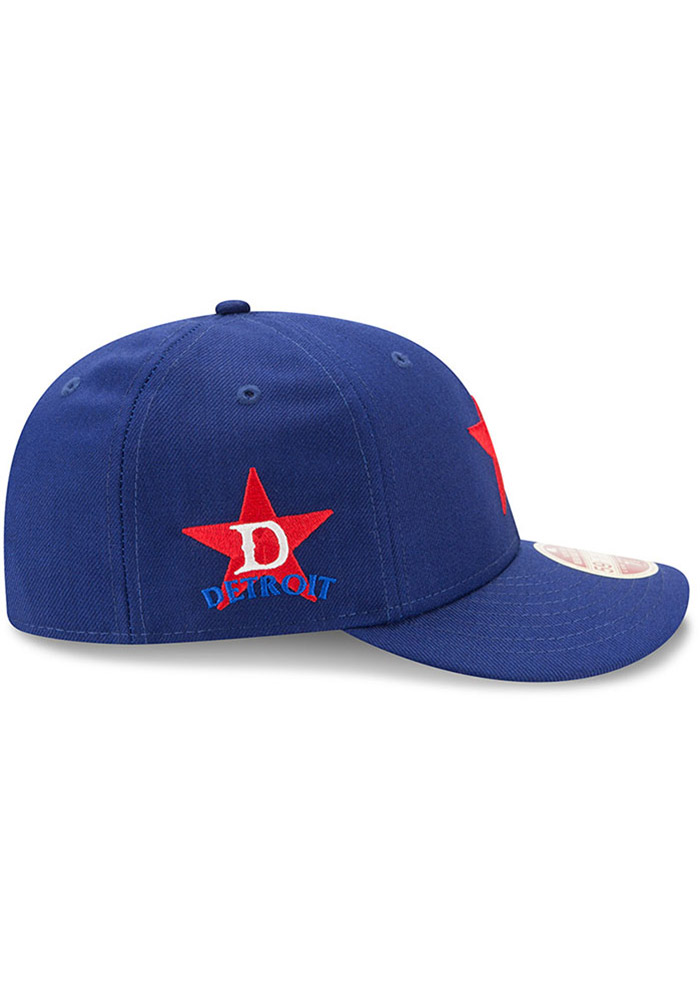 New Era Detroit Stars Mens Blue Dual 59FIFTY Fitted Hat - Image 6