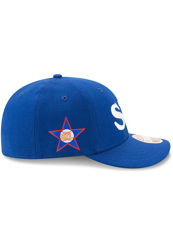 New Era St Louis Stars Mens Blue Dual 59FIFTY Fitted Hat - Image 6