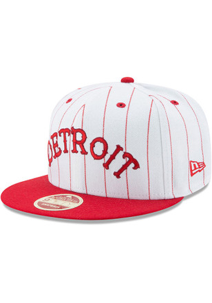 New Era Detroit Stars Brown Striped Jerz 9FIFTY Snapback Hat