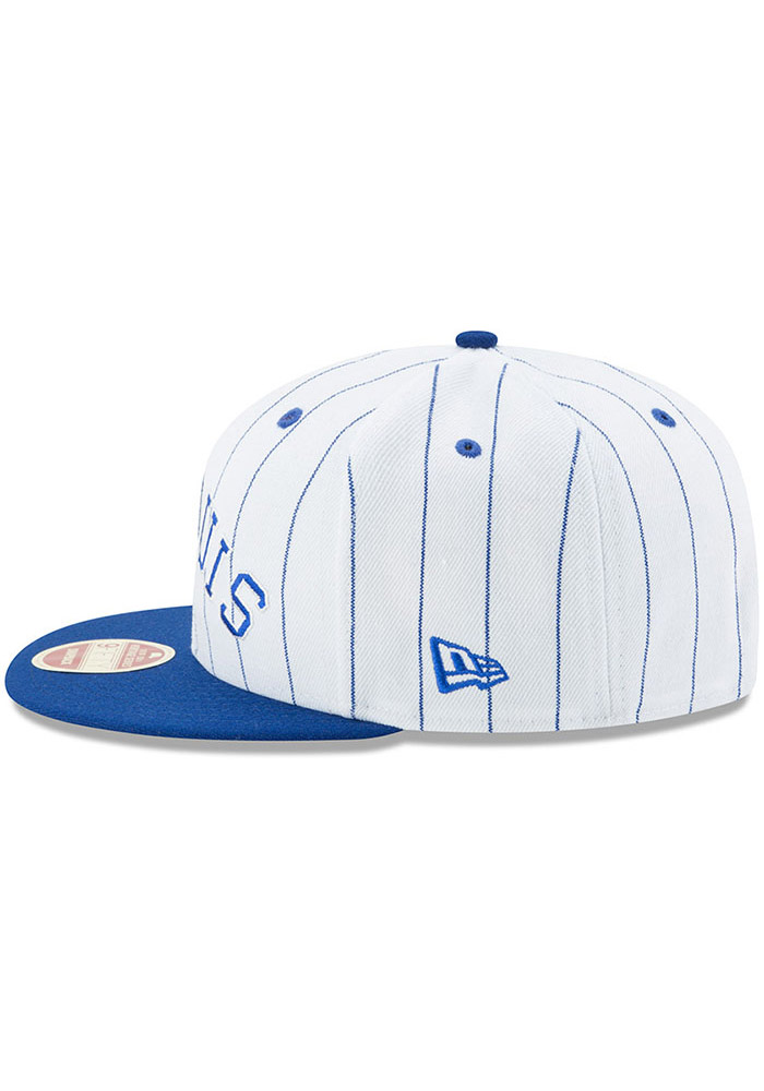 New Era St Louis Stars White Striped Jerz 9FIFTY Mens Snapback Hat - Image 4