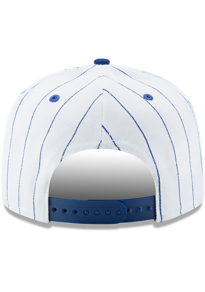 New Era St Louis Stars White Striped Jerz 9FIFTY Mens Snapback Hat - Image 5