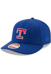 Texas Rangers New Era Blue Vintage 59FIFTY Fitted Hat