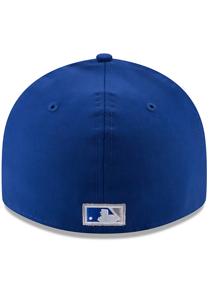 New Era Kansas City Royals Mens Blue Vintage 59FIFTY Fitted Hat - Image 5
