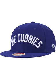New Era Chicago Cubs Navy Blue Team Call Out 9FIFTY Snapback Hat