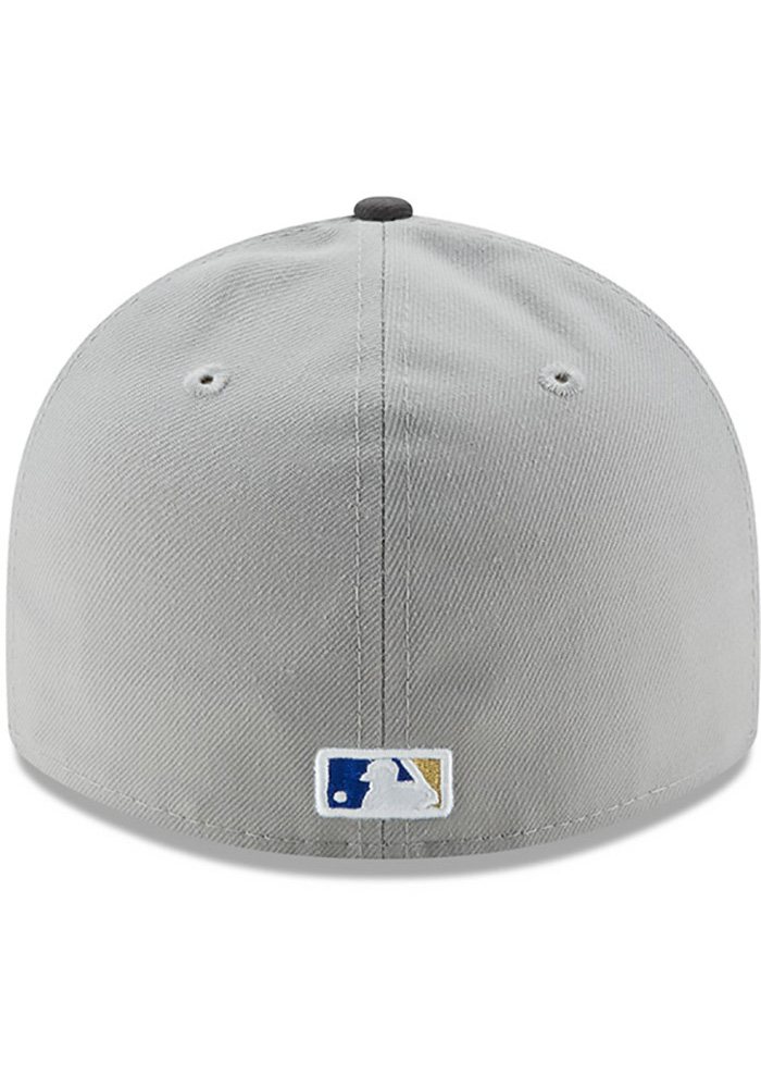 New Era Kansas City Royals Mens Grey Glory 59FIFTY Fitted Hat - Image 5