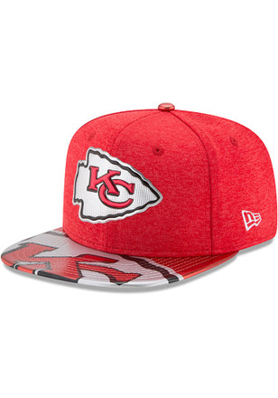 New Era Kansas City Chiefs Red 2017 On-Stage 9FIFTY Snapback Hat 9f72c288a
