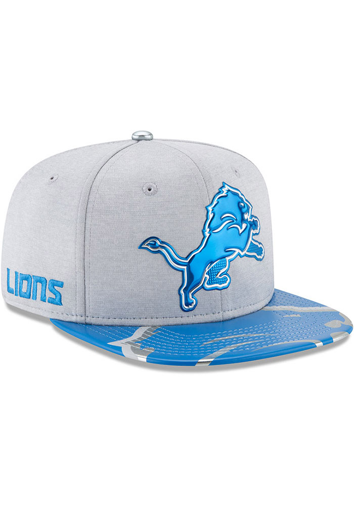 Detroit Lions Grey 2017 On-Stage 9FIFTY Youth Snapback Hat - Image 3