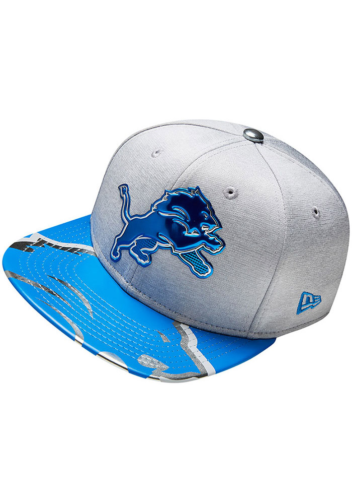 Detroit Lions Grey 2017 On-Stage 9FIFTY Youth Snapback Hat - Image 4
