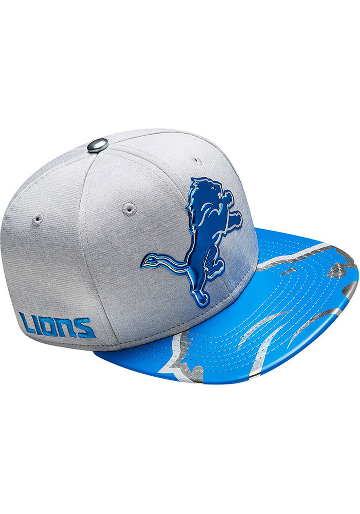 Detroit Lions Grey 2017 On-Stage 9FIFTY Youth Snapback Hat - Image 5