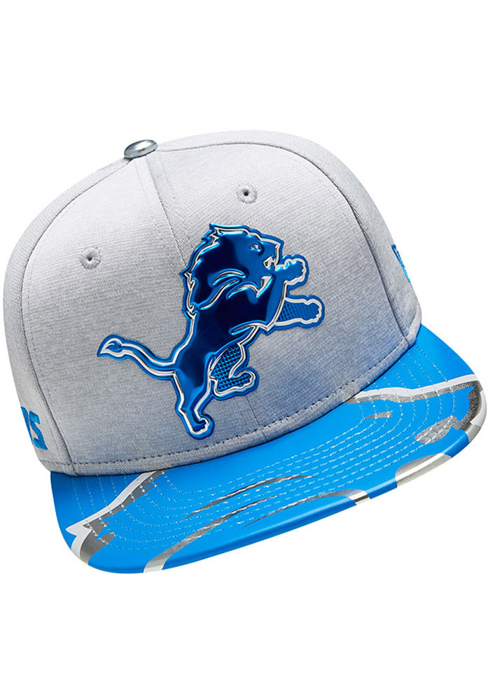 Detroit Lions Grey 2017 On-Stage 9FIFTY Youth Snapback Hat - Image 6