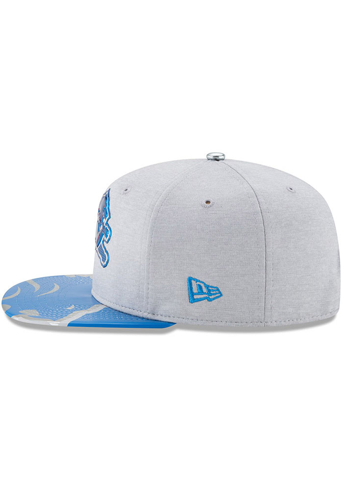 Detroit Lions Grey 2017 On-Stage 9FIFTY Youth Snapback Hat - Image 8