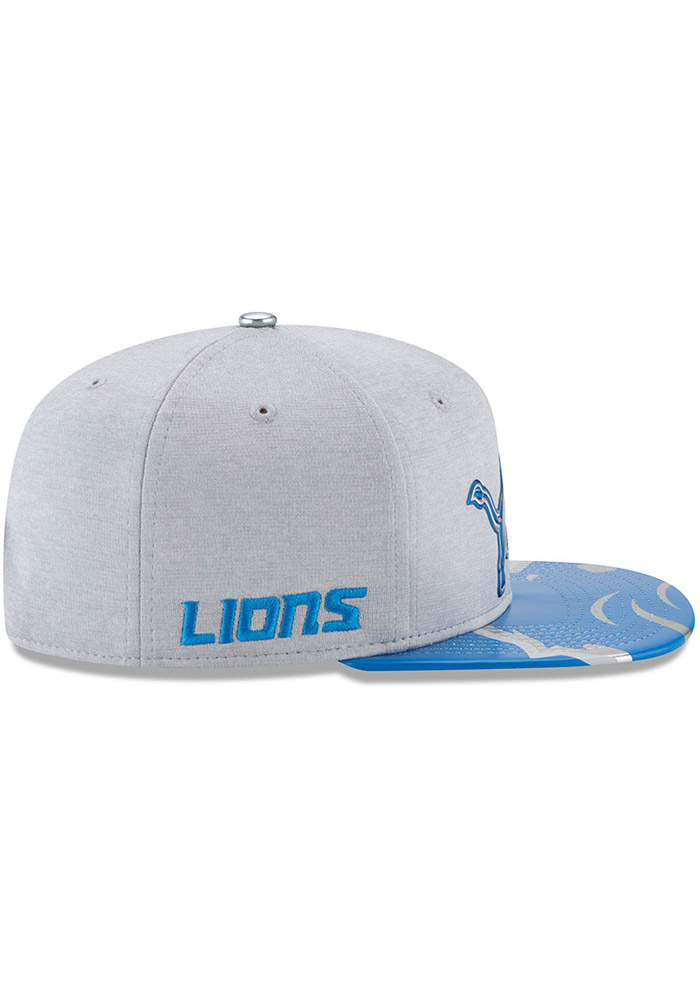 Detroit Lions Grey 2017 On-Stage 9FIFTY Youth Snapback Hat - Image 10
