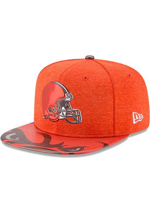 New Era Cleveland Browns Orange 2017 On-Stage 9FIFTY Snapback Hat