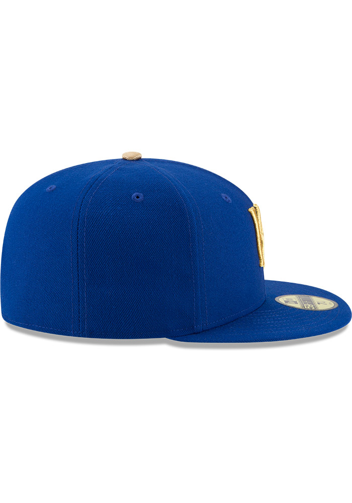 Kansas City Royals Mens Blue Alt AC 59FIFTY Fitted Hat - Image 5