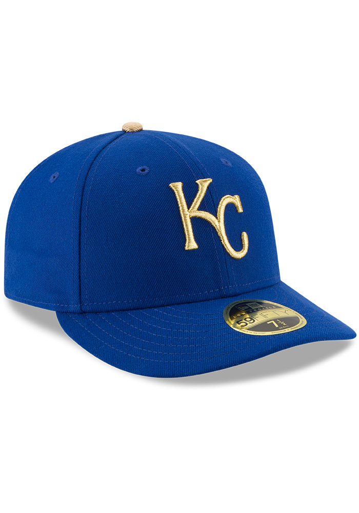 Kansas City Royals Mens Blue Alt AC Low Crown 59FIFTY Fitted Hat - Image 2