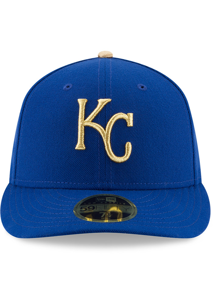 Kansas City Royals Mens Blue Alt AC Low Crown 59FIFTY Fitted Hat - Image 3
