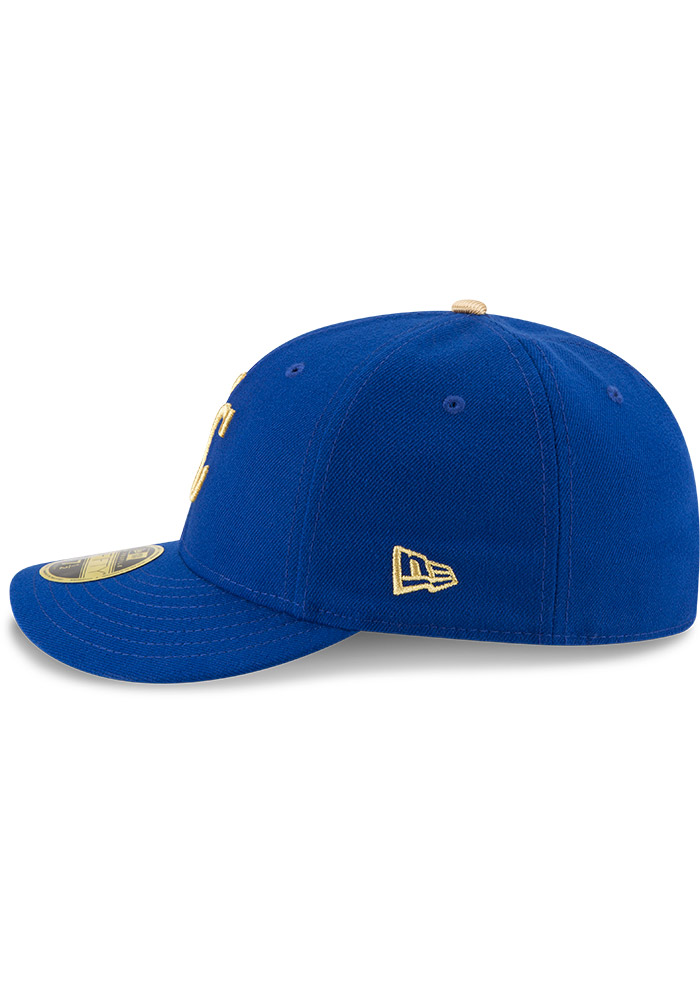 Kansas City Royals Mens Blue Alt AC Low Crown 59FIFTY Fitted Hat - Image 4