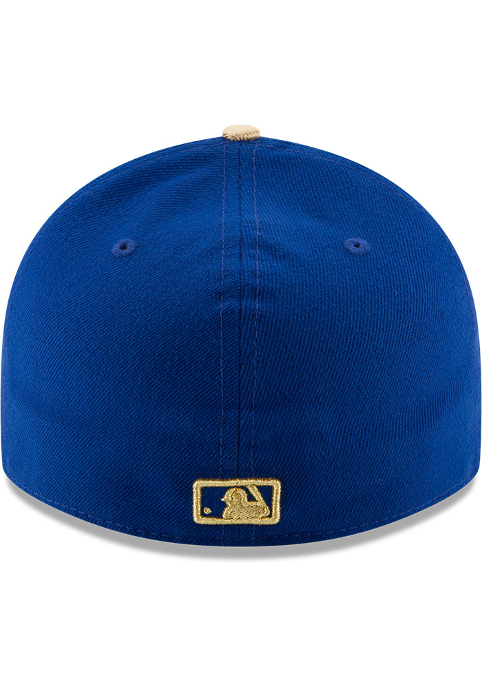 Kansas City Royals Mens Blue Alt AC Low Crown 59FIFTY Fitted Hat - Image 5