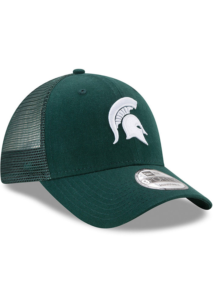 Michigan State Spartans Green Trucker Washed 9FORTY Youth Adjustable Hat - Image 2