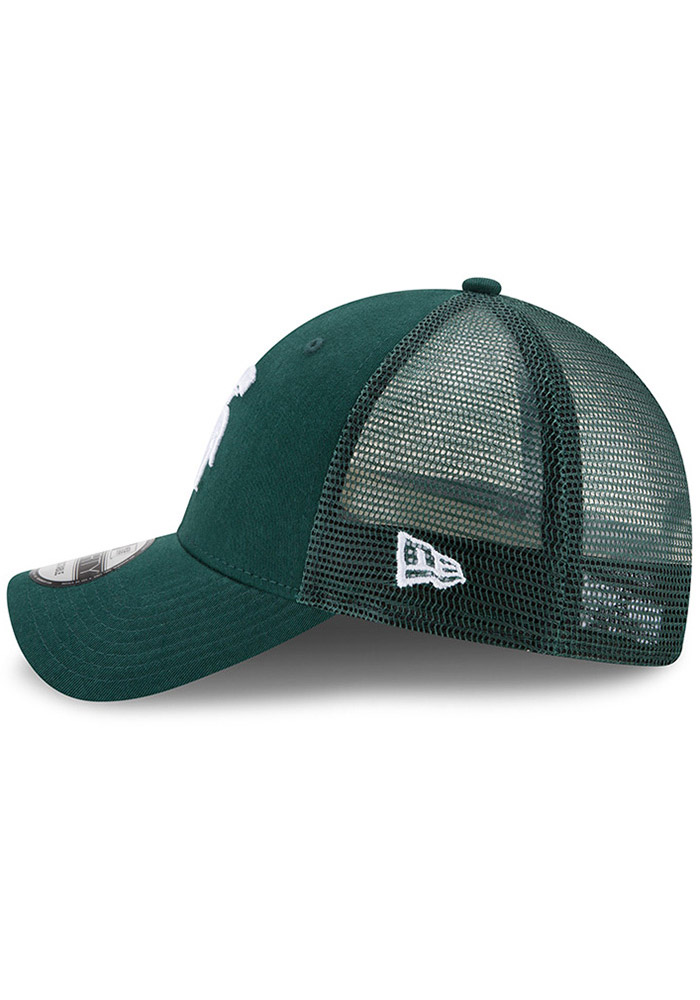 Michigan State Spartans Green Trucker Washed 9FORTY Youth Adjustable Hat - Image 4